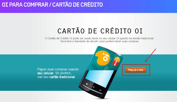 40e7f68a67 CARTÃO DE CRÉDITO OI PELA INTERNET COMO SOLICITAR